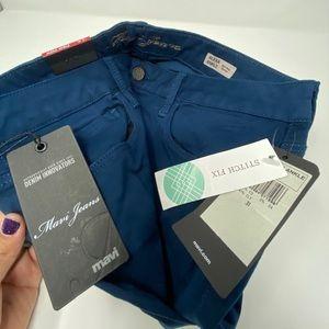 Navi Alexa Ankle navy blue jeans